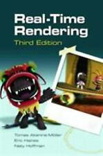 Real-Time Rendering by Naty Hoffman Hardcover Book (English)