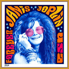 4916a Janis Joplin Music Icon Imperf Single Stamp from Press Sheet No Die Cuts