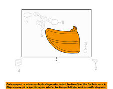 Saturn GM OEM 07-10 Outlook-Tail Lamp Assembly Right 25954939