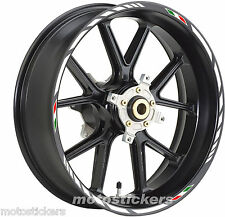 "YAMAHA TMAX 14""-15"" - Stickers wheels – Kit wheels model racing tricolor"