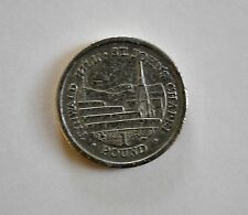 2008 One Pound Coin from UK, Isle of Man Tynwald Hill, St. John's Chapel