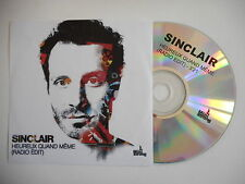 SINCLAIR : HEUREUX QUAND MEME ( RADIO EDIT ) [ CD PROMO ] ~ PORT GRATUIT !