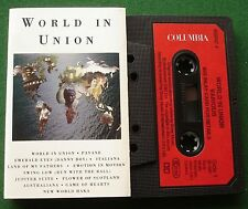 World in Union ITV Rugby World Cup inc Maori Haka Cassette Tape - TESTED