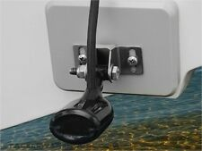 Stern Saver glue-on transducer mounting system for Xtreme Aluminum Boats