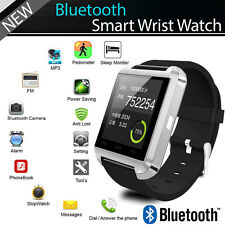 Bluetooth Smart Wrist Watch Phone Mate For IOS Android iPhone Samsung Utility US