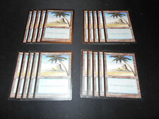 20x Basic Land*SAME ART*Island*Mirage**Magic the Gathering MTG**FTG