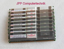 8GB 2x 4GB RAM IBM PC2-5300F 667 MHz CL5 DDR2 FB DIMM ECC DDR2 46c7423 46c7429