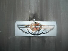 HARLEY-DAVIDSON MOTORCYCLES 100th. ANNIVERSARY VINYL STICKER