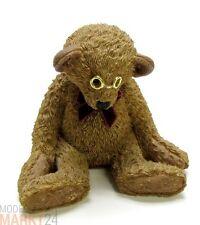 """BEAUBEARS Teddi Bär """"Fränklin"""" mit Schleife und Brille Standfigur Höhe 10,6 cm"""