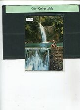 P282 # MALAYSIA USED PICTURE POST CARD * WATERFALL AT BOTANICAL GARDEN