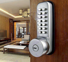 Keyless Digital Code Keypad Button Machinery Password Door Lock Entry Security