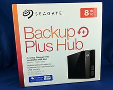 Seagate Backup Plus Hub 8TB External USB 3.0 Desktop Hard Drive