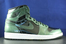 NIKE AIR JORDAN 1 RETRO HIGH I GROVE GREEN BLACK WHITE 332550 300 SZ 15