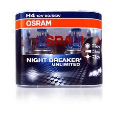 OSRAM New! - H4 Night Breaker Unlimited (Pair)  110% PLUS Improvement