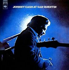Johnny Cash At San Quentin -Live CD-With Free  Hour Long DVD JC Show With Guests