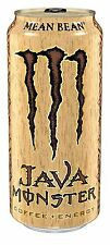 Java Monster Coffee Energy Drink, Mean Bean, 15 Ounce Pack of 12