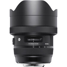 Sigma 12-24mm f/4 DG HSM Art Lens for Nikon **AUTHORIZED DEALER**