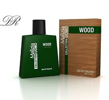 Malizia Uomo Collection WOOD Parfum - EdT 100ml vapo