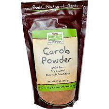 Now Foods Carob Powder No Additives - 12 oz (340g)