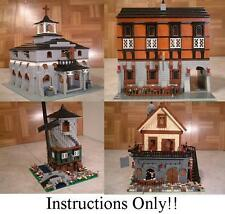 GET 100+ CUSTOM LEGO INSTRUCTIONS like many Medieval sets -great for Lego 10176