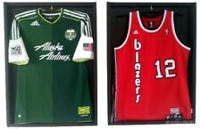 Lot of 2 Display Case Frame Signed Football Basketball Baseball JERSEY A