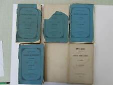 SOCIETE D'EMULATION de la VENDEE années 1871 à 1874 et 1876  très rare