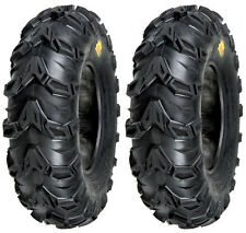 Pair 2 Sedona Mud Rebel 25x11-10 ATV Tire Set 25x11x10 25-11-10