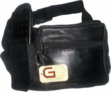 Leather waist pouch large waist bag leather bag Fanny pack sports bag brand new