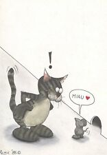 POSTCARD / CARTE POSTALE / ILLUSTRATEUR ALEX / THE CAT / CHAT