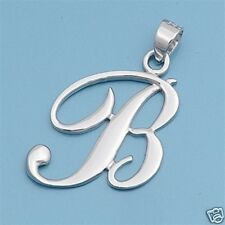 Alphabet Letter Pendants Sterling Silver 925 Best Price Jewelry Gift Initial A