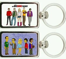 LLAVERO METAL THE BIG BANG THEORY  -  LA TEORIA DEL BIG BANG KEYRING MOD. 5