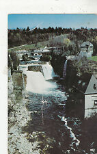 BF28222 rainbow falls ausable chasm new york USA   front/back image