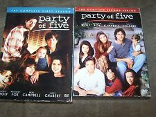Party of Five Season 1 & 2 10 Discs in Excellent Condition