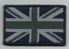 Union Jack Badge, Velcro, Blue & Grey, TRF, Military, Army, Sleeve, Arm, Patch