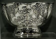Japanese Sterling Bowl   SHIGEMITSO                              Weighs  40  OZ.