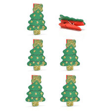 Holiday Party Home Decor Decoration Christmas Tree Clip String Hanging Ornament