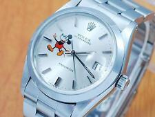 Rolex 6694 Oysterdate Precision Mickey Mouse Men's Watch!