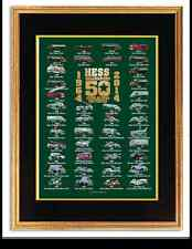 2014 Hess Toy Truck 50 Year Anniversary Collector's Poster