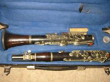 """Nice, old wooden  C  Clarinet Albert system(?) """"Ernst Kriegelstein Graslitz"""""""