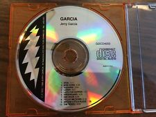 Garcia by Jerry Garcia (CD, 1995, Grateful Dead/Arista) No Case, Only CD RARE