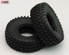 """Mud Thrashers 1.55"""" Scale Tyres (2) RC4WD with Foams tyre Very Scale looking"""