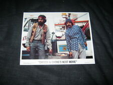 Original CHEECH & CHONG'S NEXT MOVIE Mini 8x10 lobby card #1