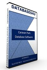 Holiday/Caravan Park Database Software