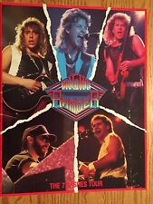 NIGHT RANGER 1985 SEVEN WISHES Tour Concert Program