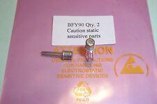 Bfy90 basso rumore RF Transistor PHILIPS Qtà nn. 2