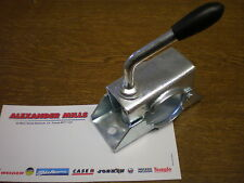 ALEXMILLS JOCKEY WHEEL CLAMP BRACKET (42MM) CARAVAN & TRAILER USE (CLAMP ONLY)