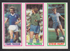 Topps - Footballers (Blue Back) 1981 - # 38 127 136 Ipswich W Ham Coventry