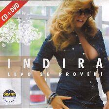 INDIRA RADIC CD + DVD Lepo se provedi Best Folk Narodna Grand Hit Srbija Hitna