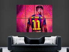 Neymar cartel Sport FC Barcelona la Liga Fútbol Fútbol Barca Pared Arte Impresión