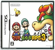 Used DS Mario & Luigi RPG 3 NINTENDO JAPANESE IMPORT